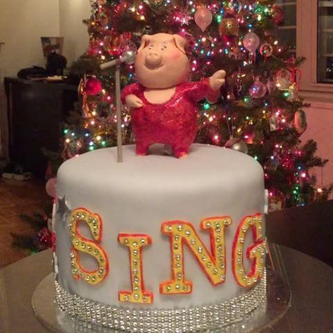 torta sing cartone animato