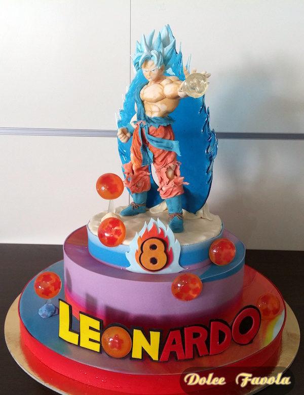 Goku Super Saian Super cake