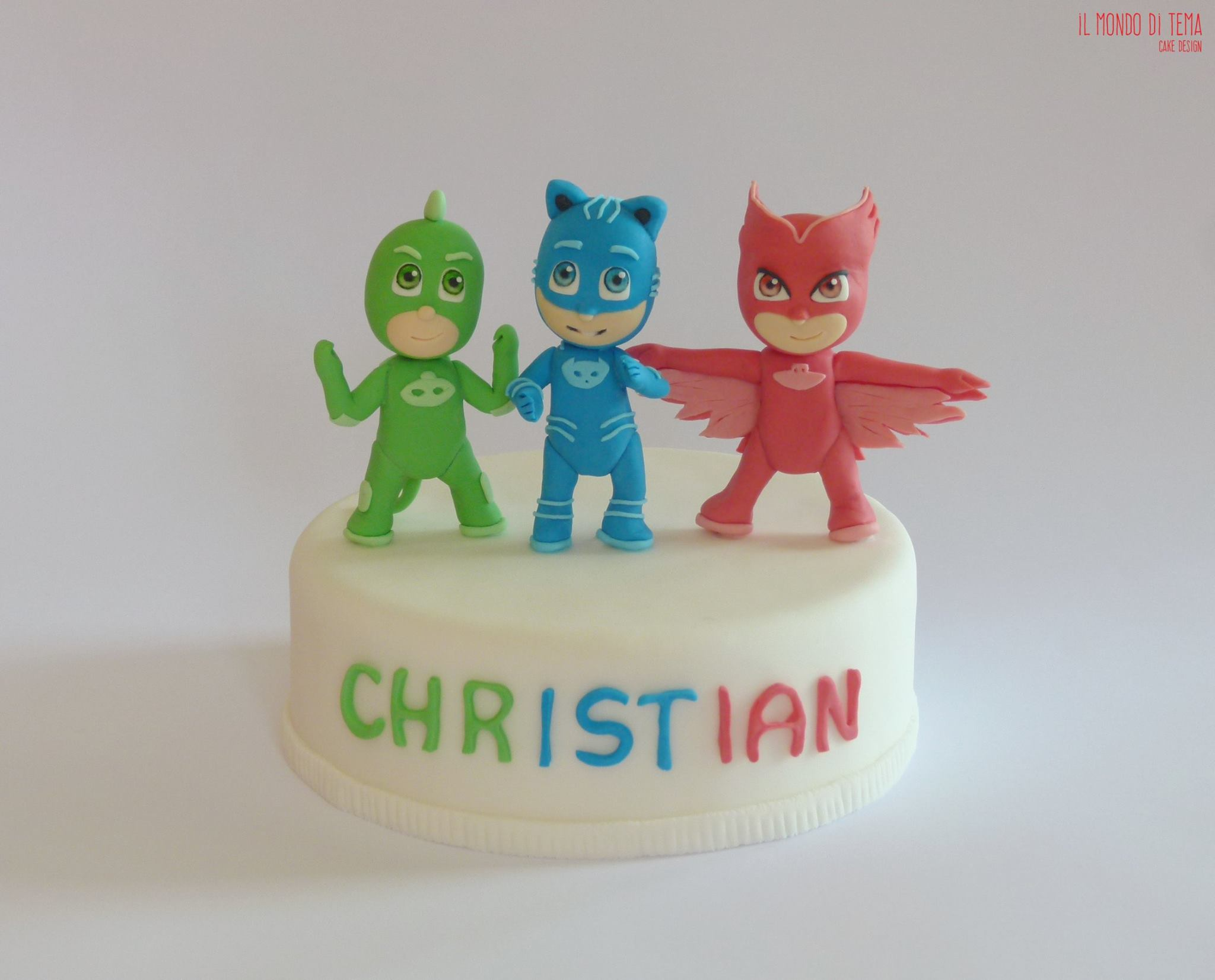 Torta Pj Masks Le Torte Decorate Dei Superpigiamini