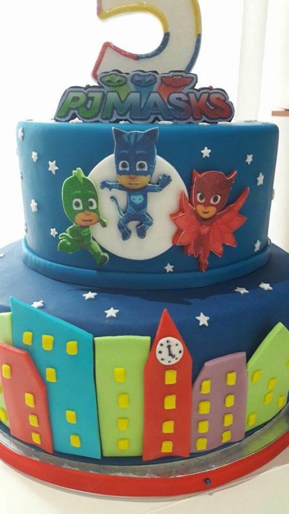 super pigiamini cake