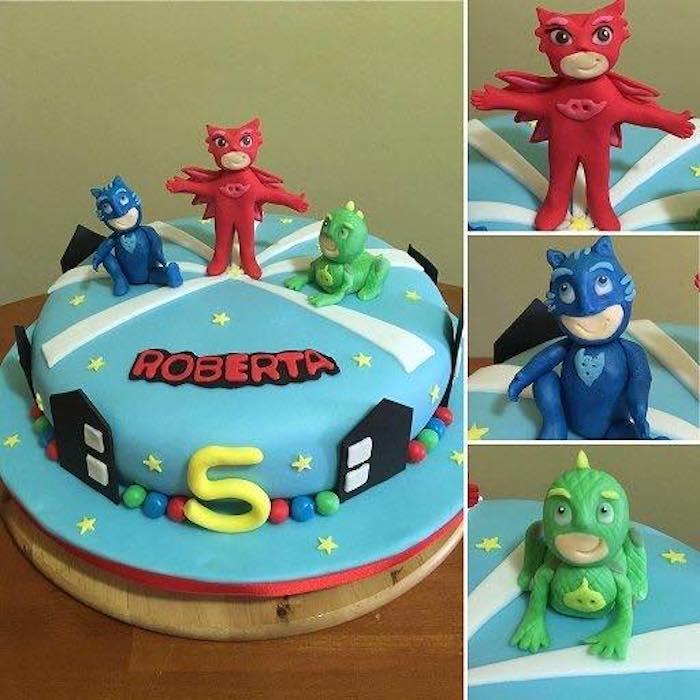 Torta pj masks le torte decorate dei superpigiamini
