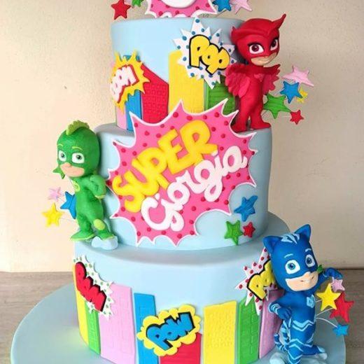 torta pjmasks