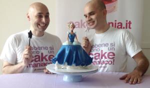 torta barbie cenerentola