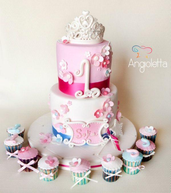 torta principessa corona