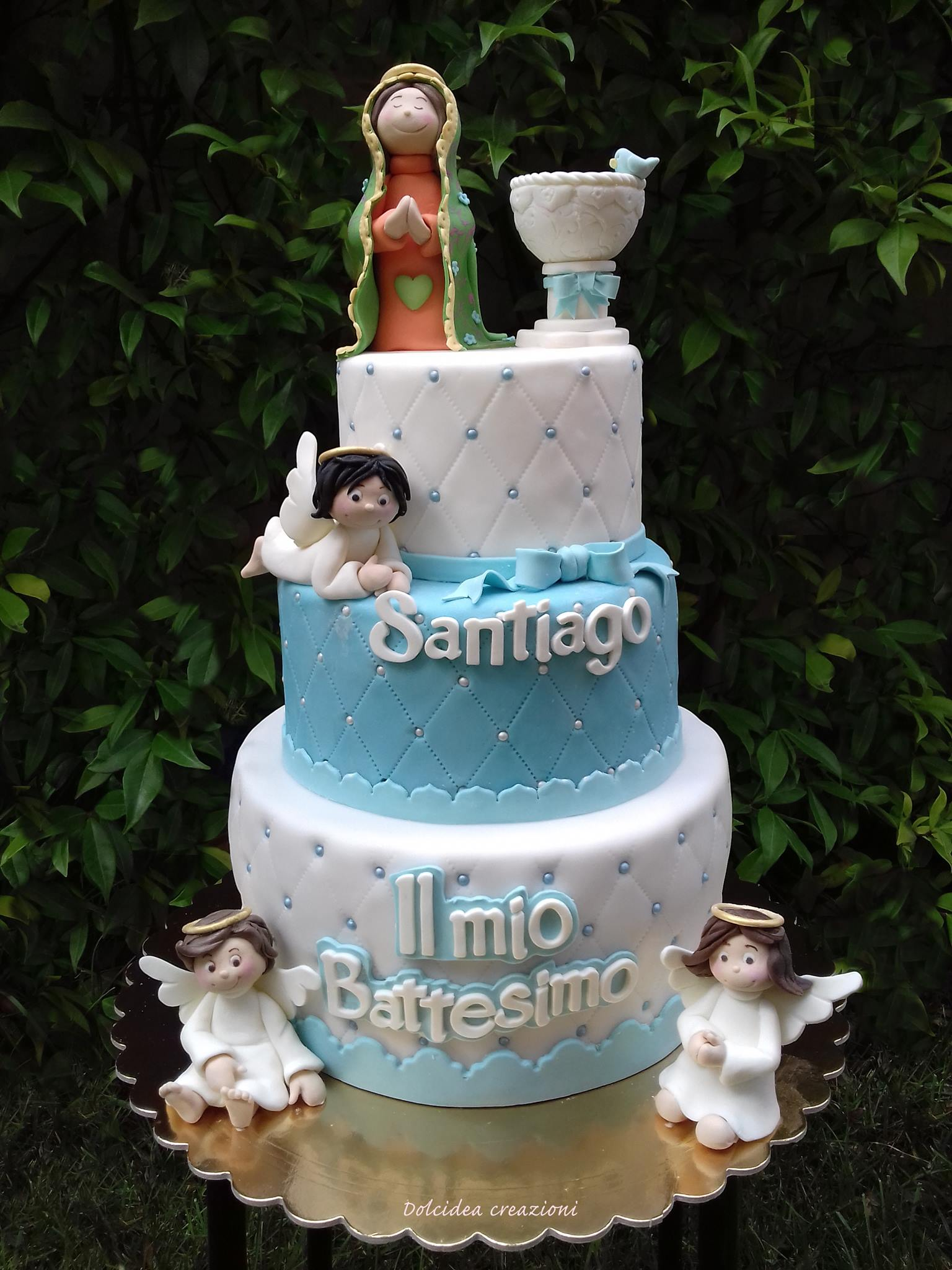 Ben noto Torta battesimo: idee di torte di cake design per maschio e femmina NC84