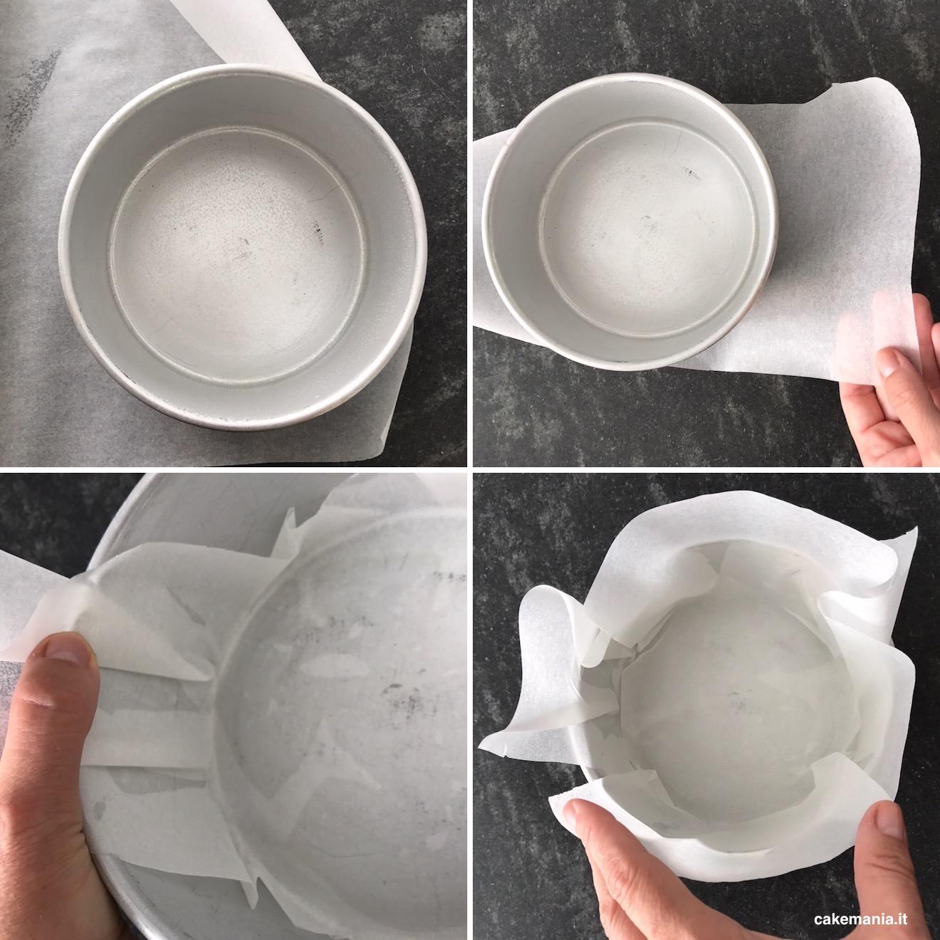 come foderare teglia con carta forno
