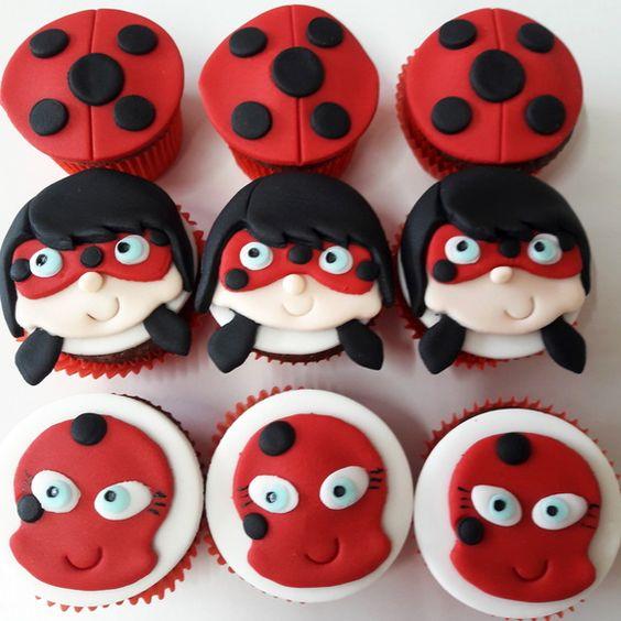 cupcake ladybug