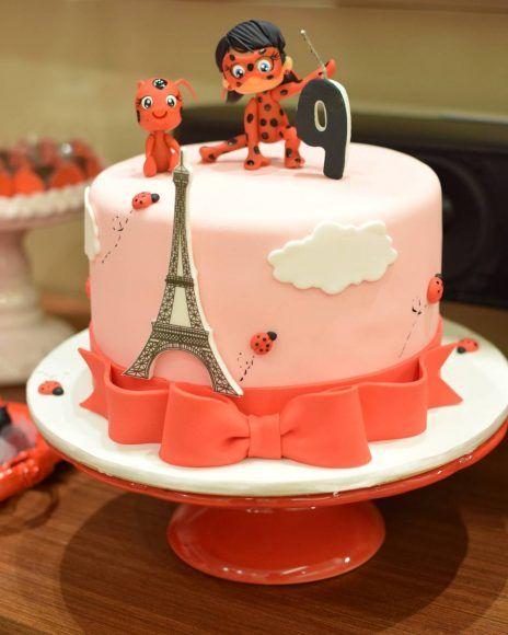 baby ladybug cake