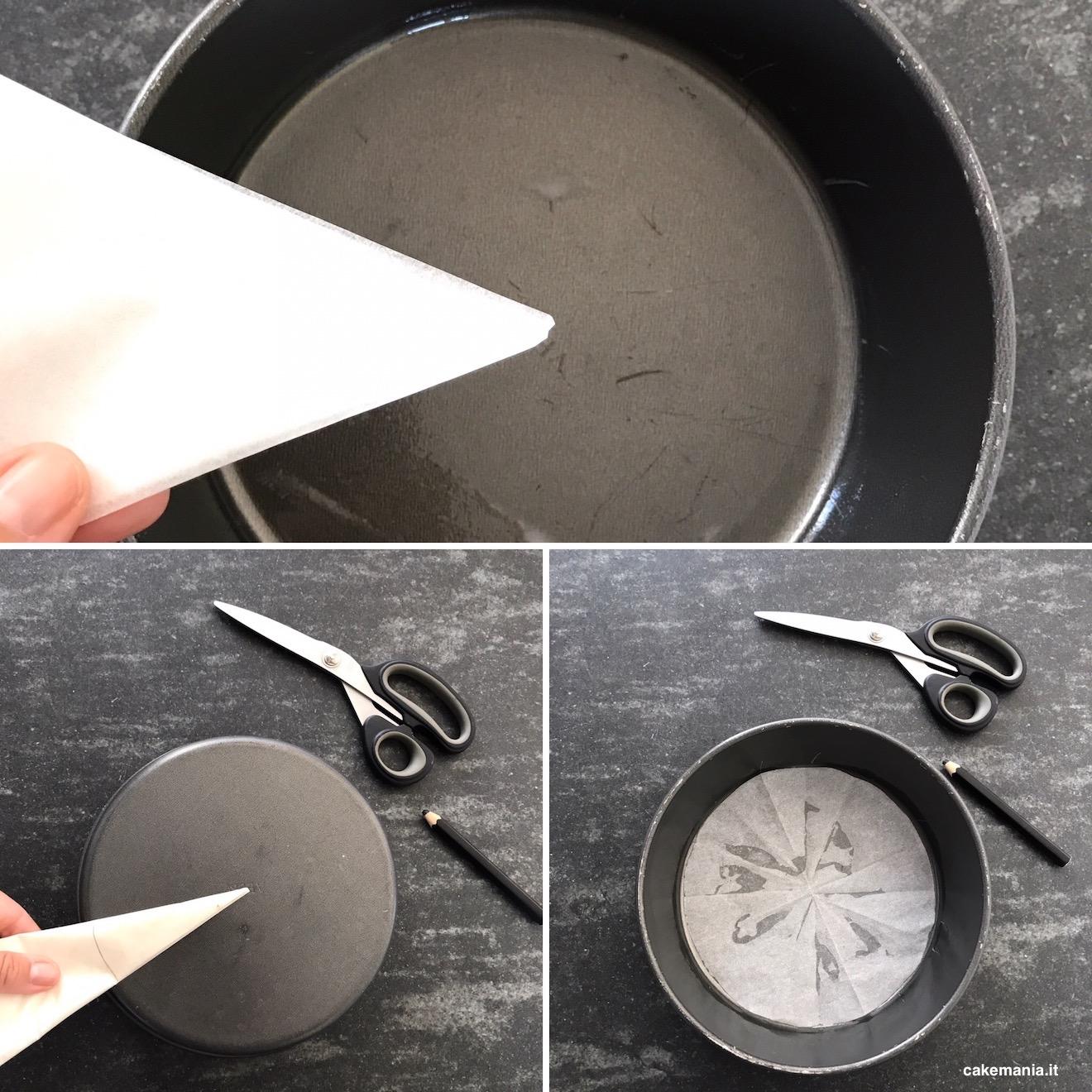 foderare teglia carta forno