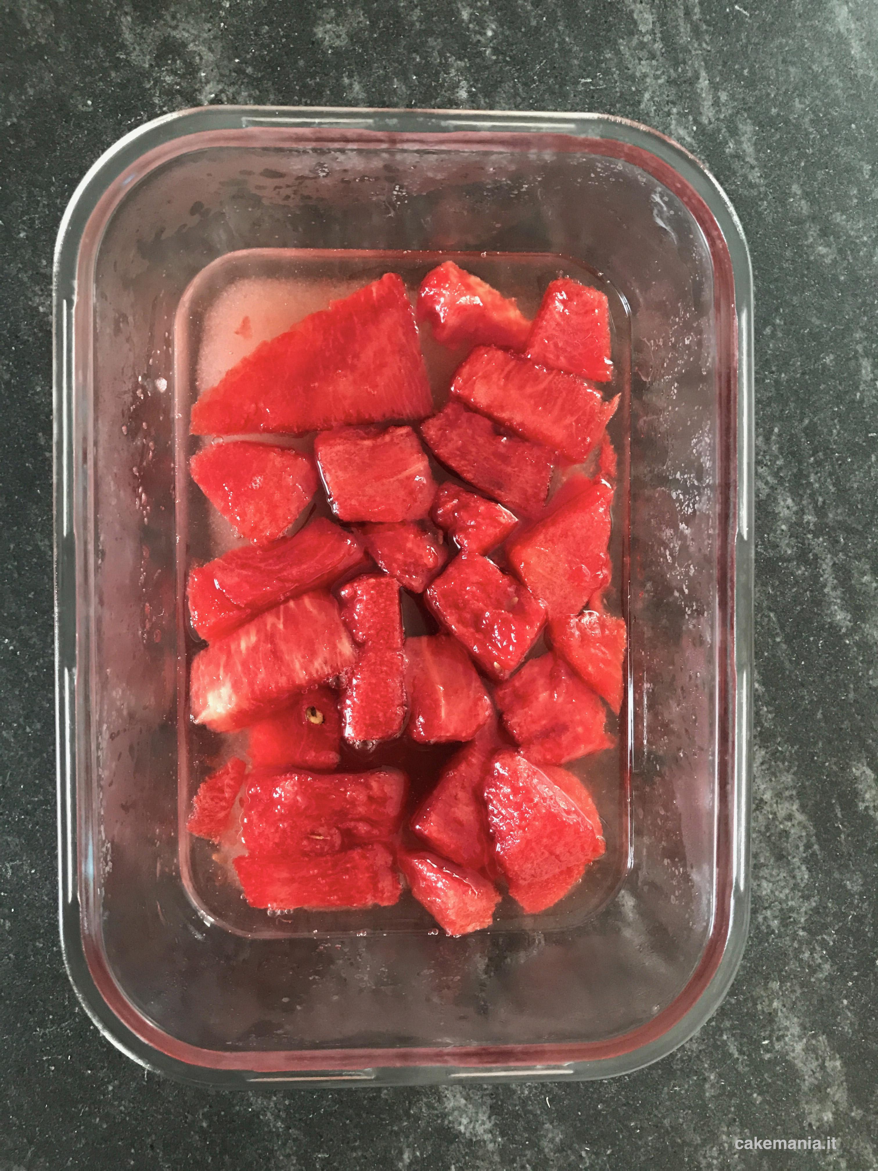 marmellata cocomero ricetta