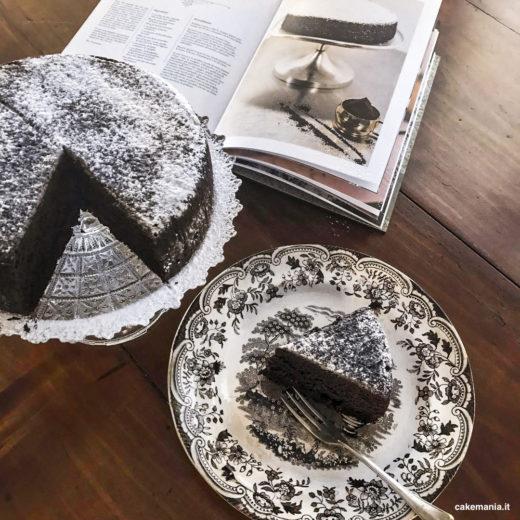 torta al cacao tostato