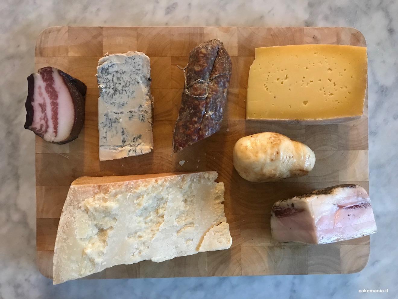 italian cheese board