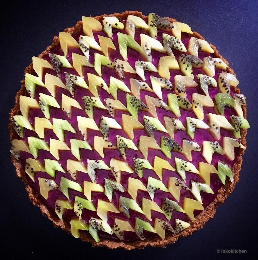 lokokitchen kiwi tart