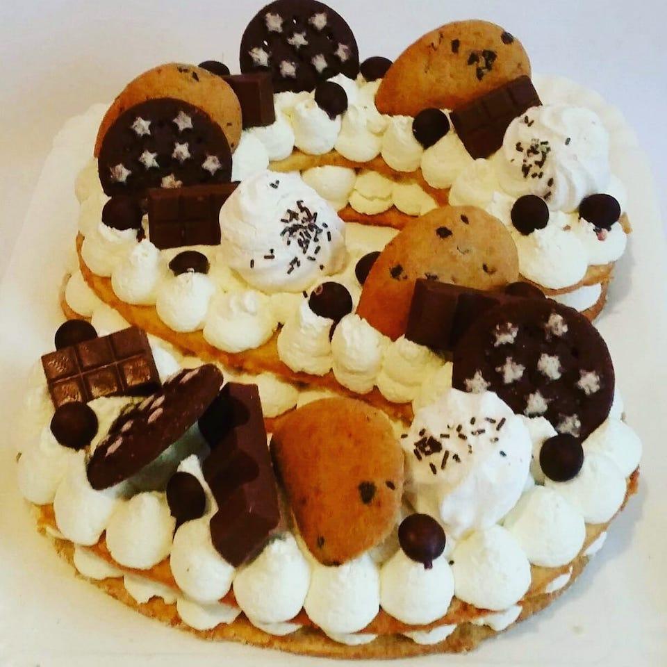 cream tart S