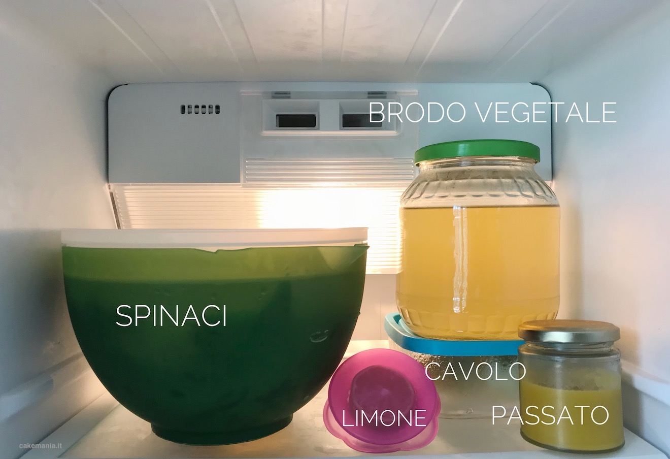frigo organizzato