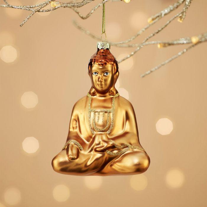 decorazione natale buddha