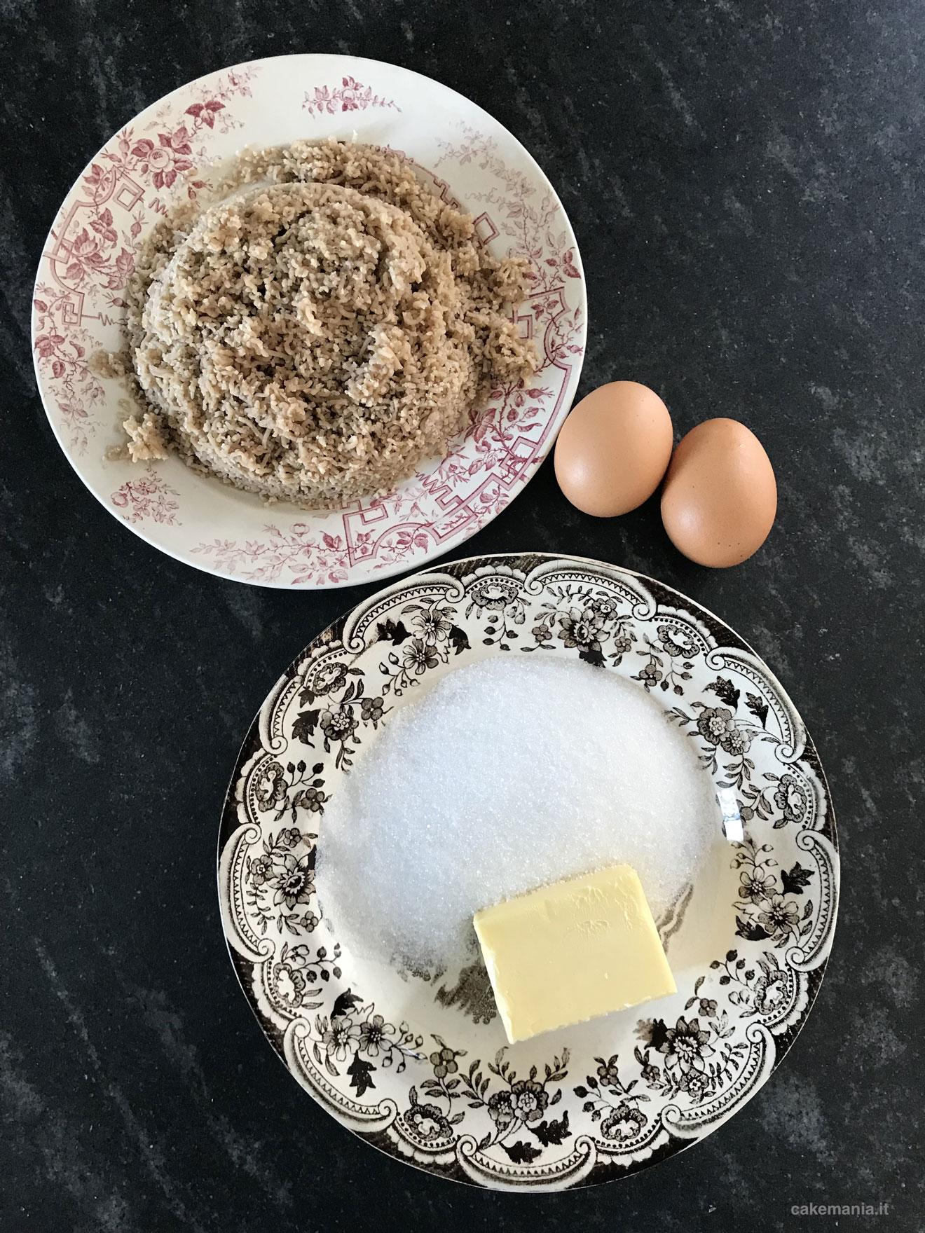 ricetta torta garfagnina castagne