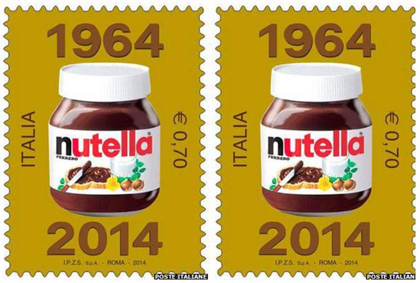 Nutella francobollo