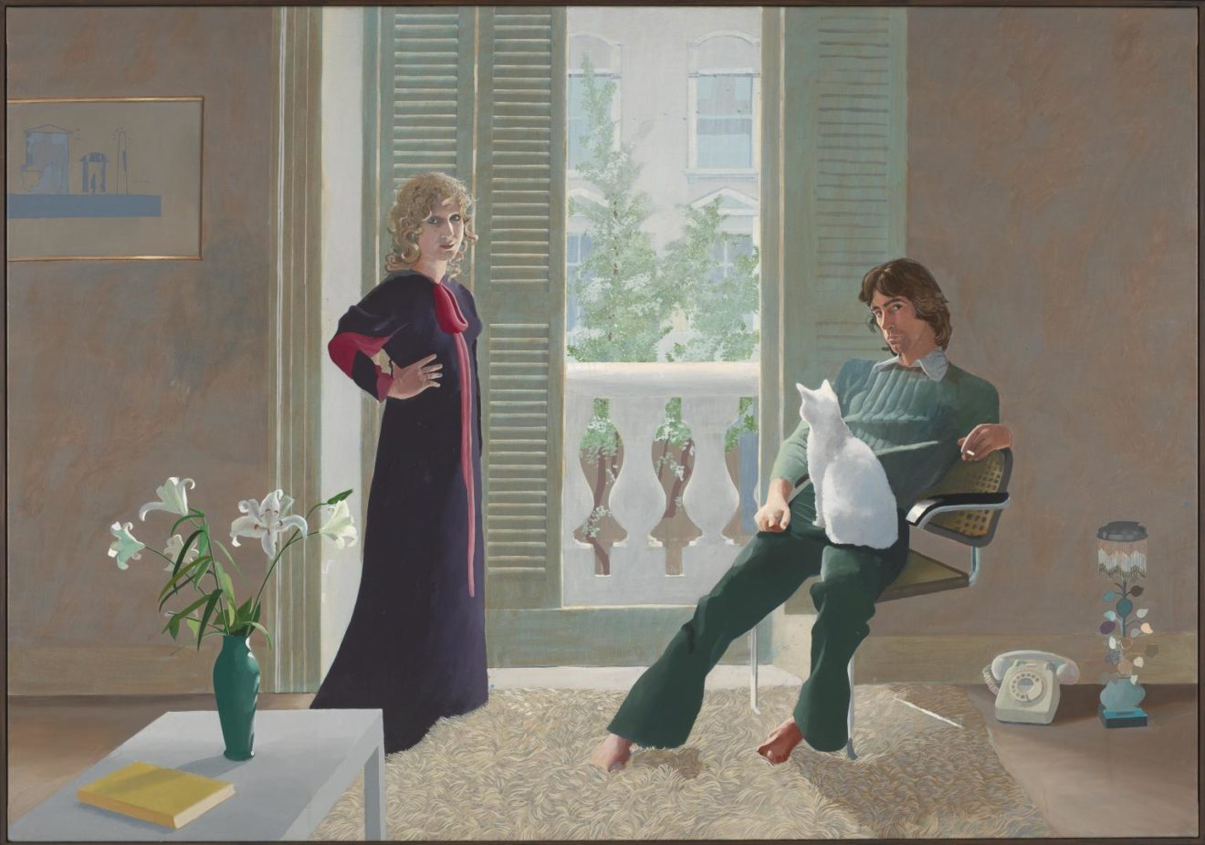 Mr and Mrs Clark and Percy 1970-1 by David Hockney