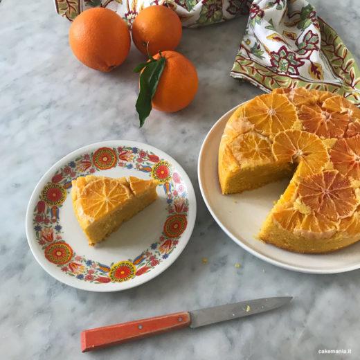 torta arance senza glutine latticini