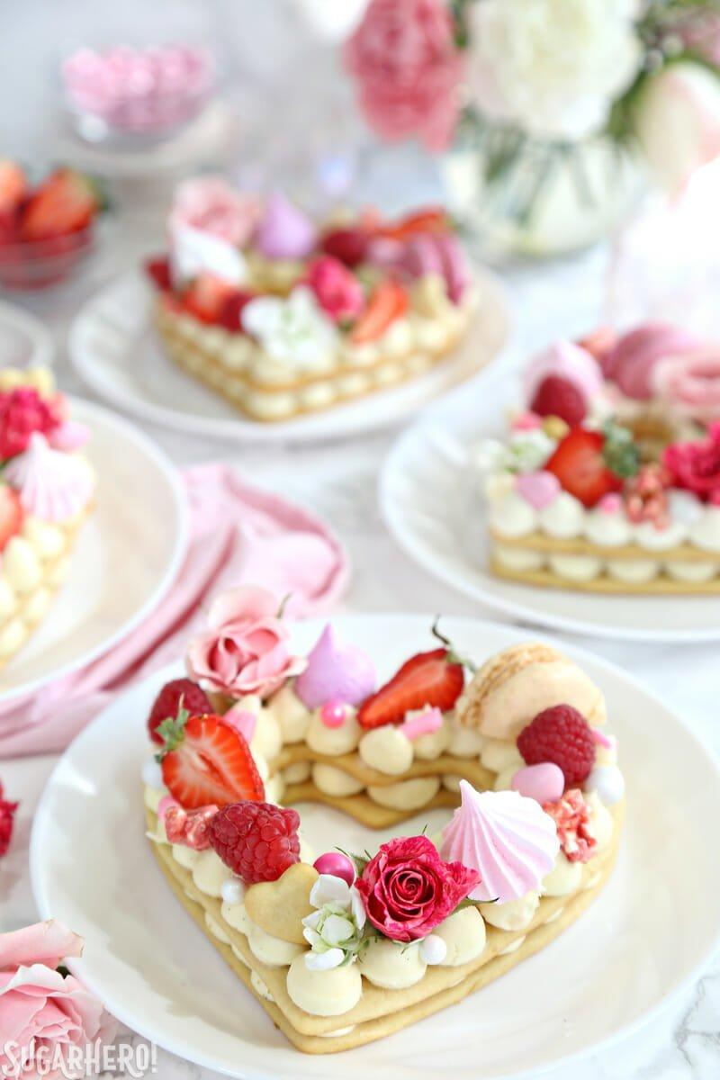 Cream tart a forma di cuore per San Valentino - gallery ...