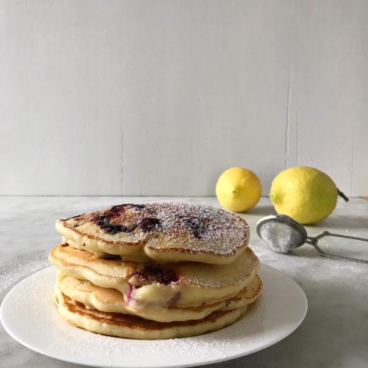 pancake ricotta limone