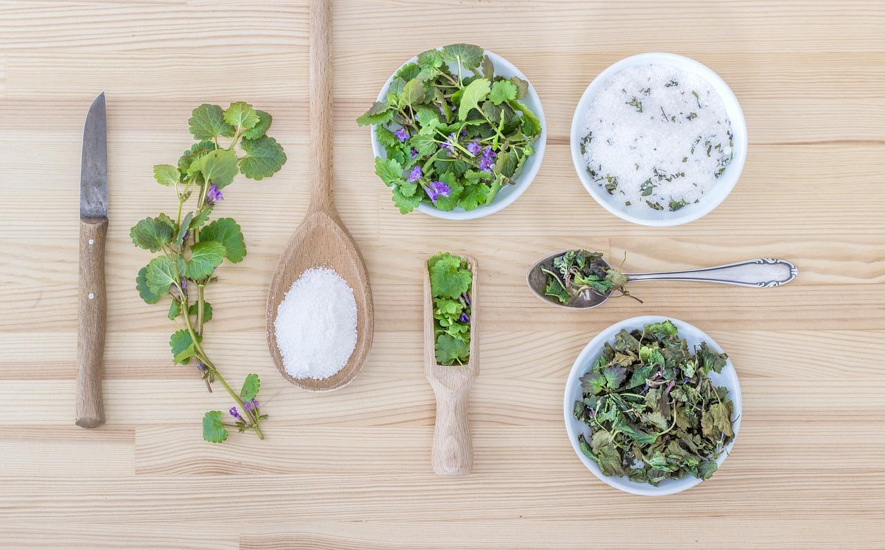 erbe sotto sale aromatico