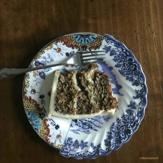 Torta di zucca con cream cheese frosting