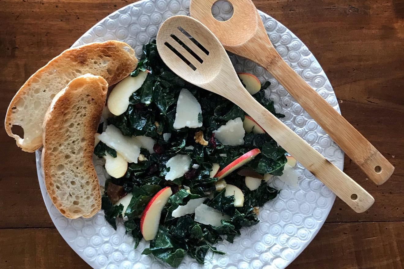 insalata cavolo nero crudo