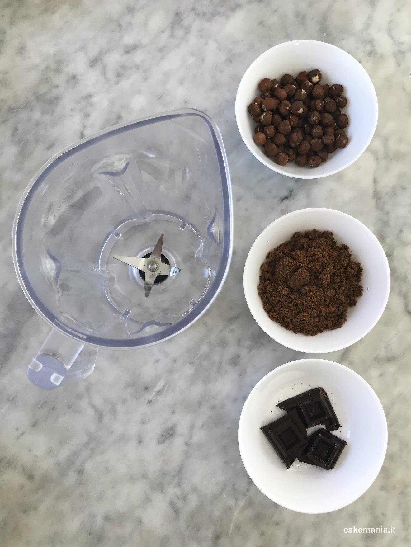 torta nocciole cioccolato ricetta facile