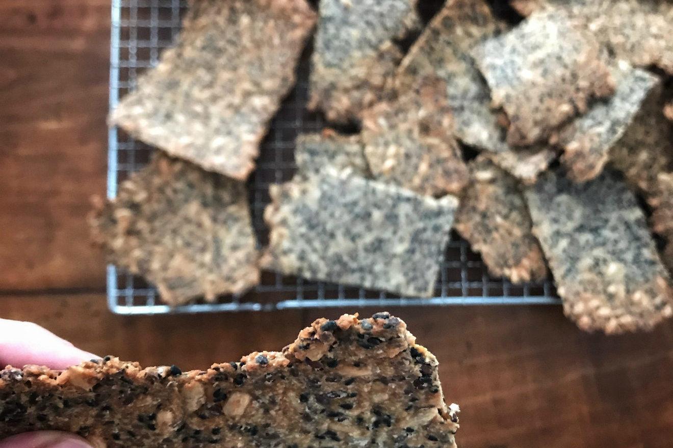 ricetta cracker senza glutine
