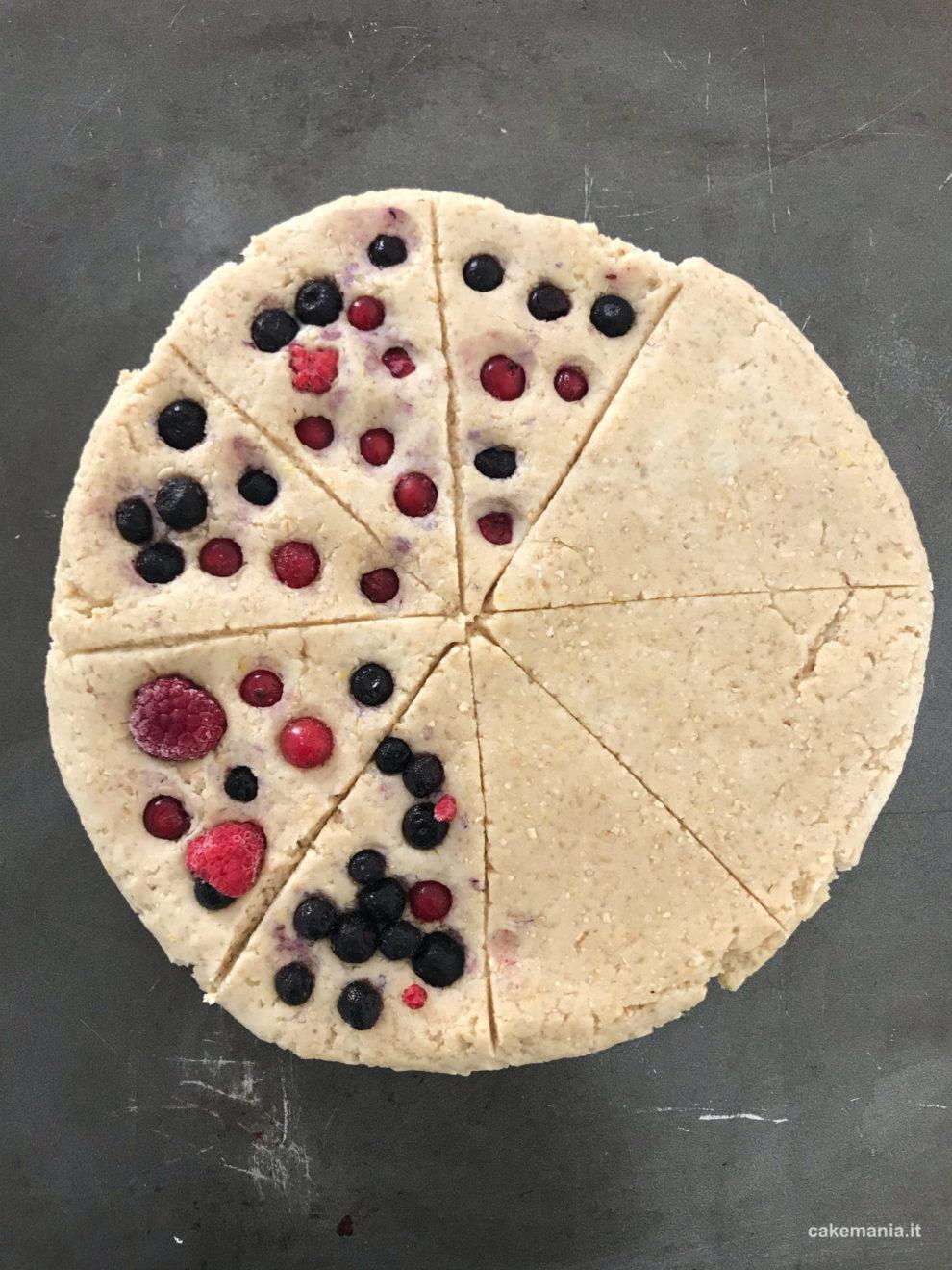 ricetta scone vegan
