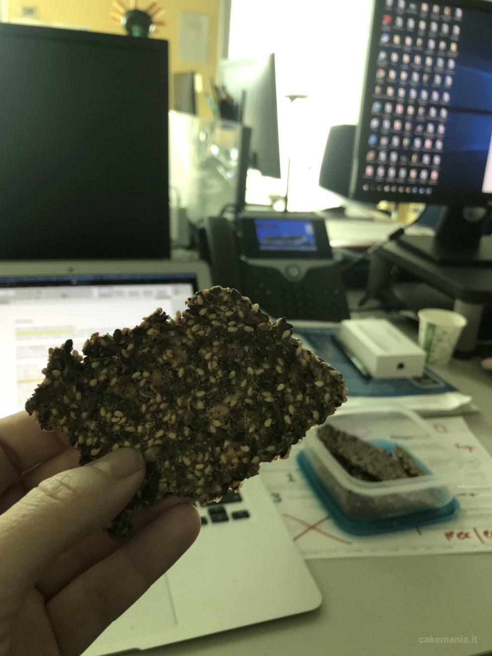 cracker fatti con farina di grano saraceno