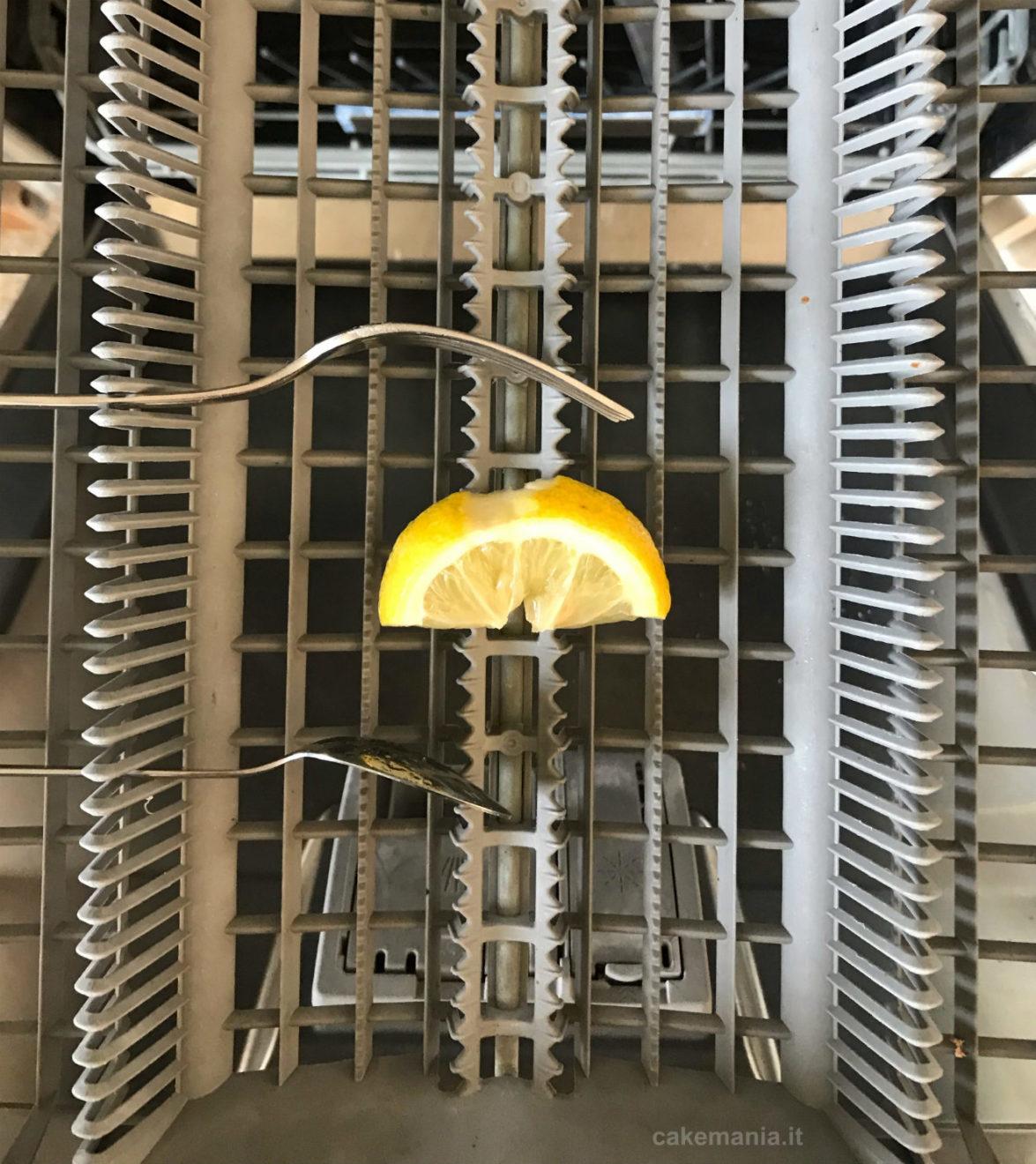 limone in lavastoviglie