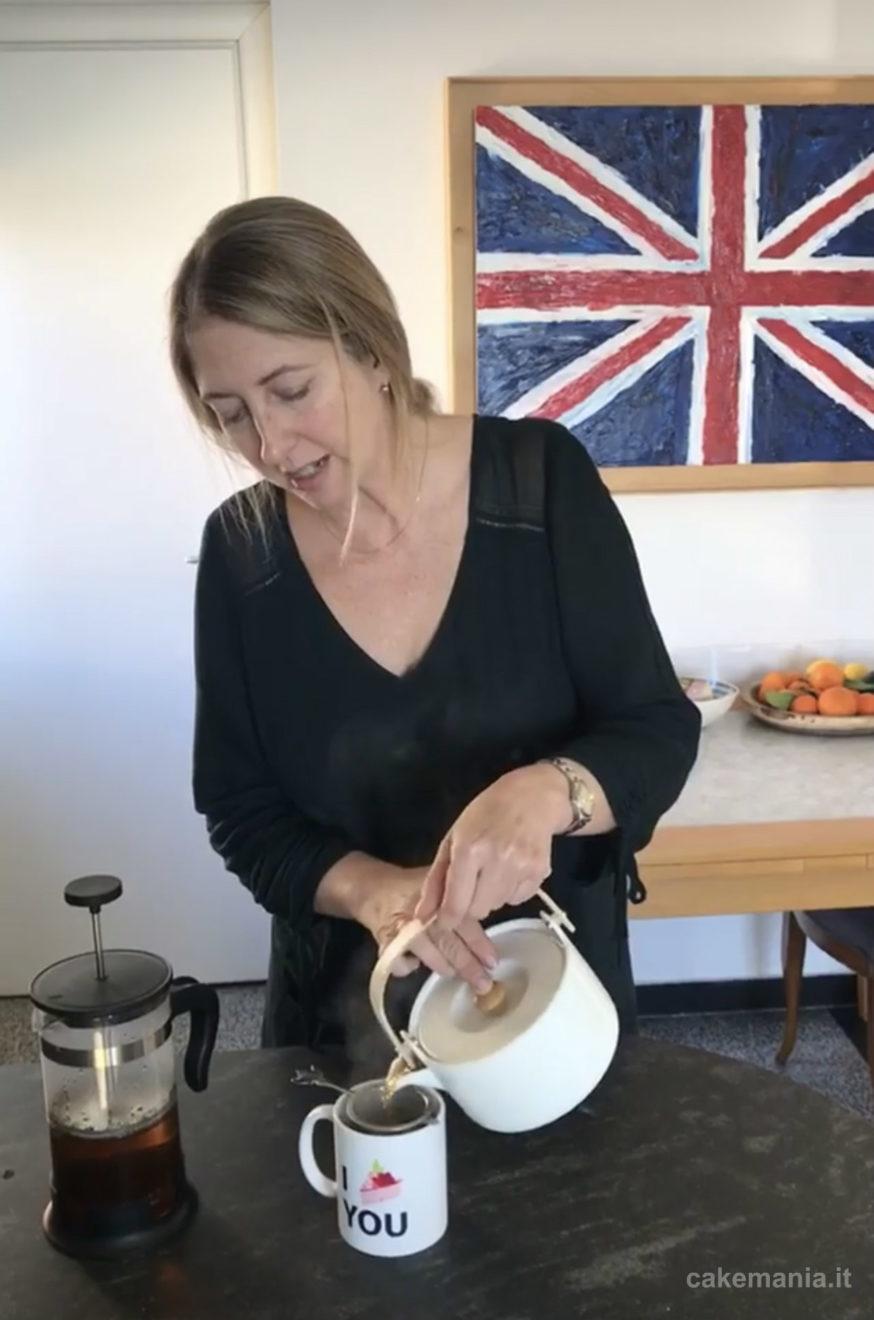 tè fatto in casa cakemania