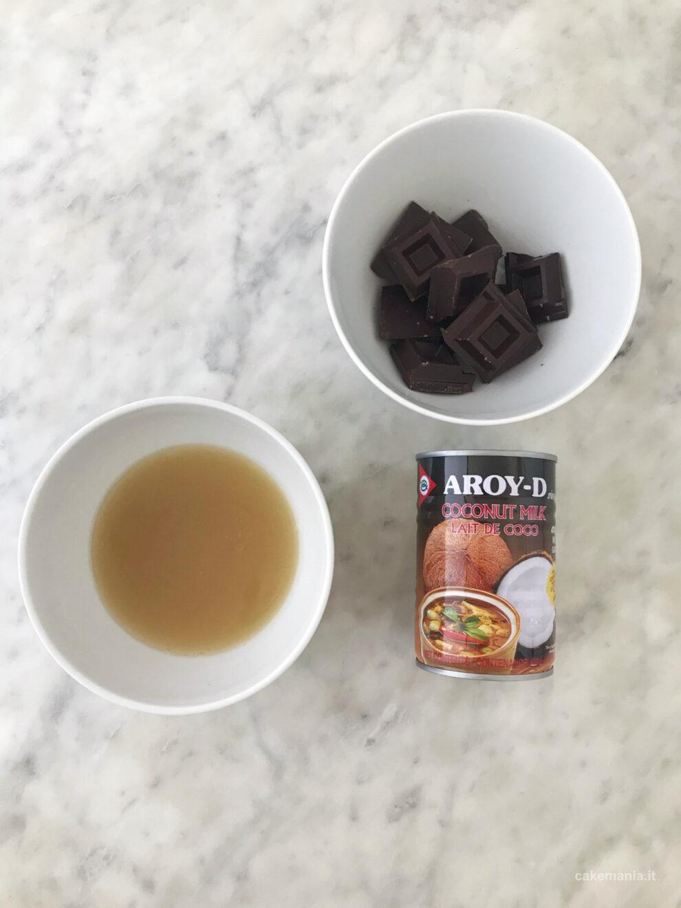 ricetta mousse vegana cioccolato cakemania