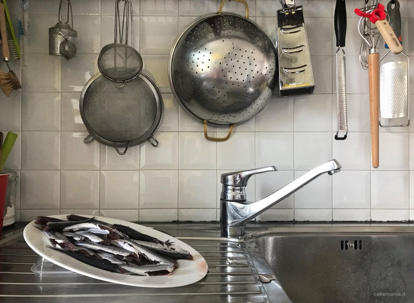 come pulire pesce fresco