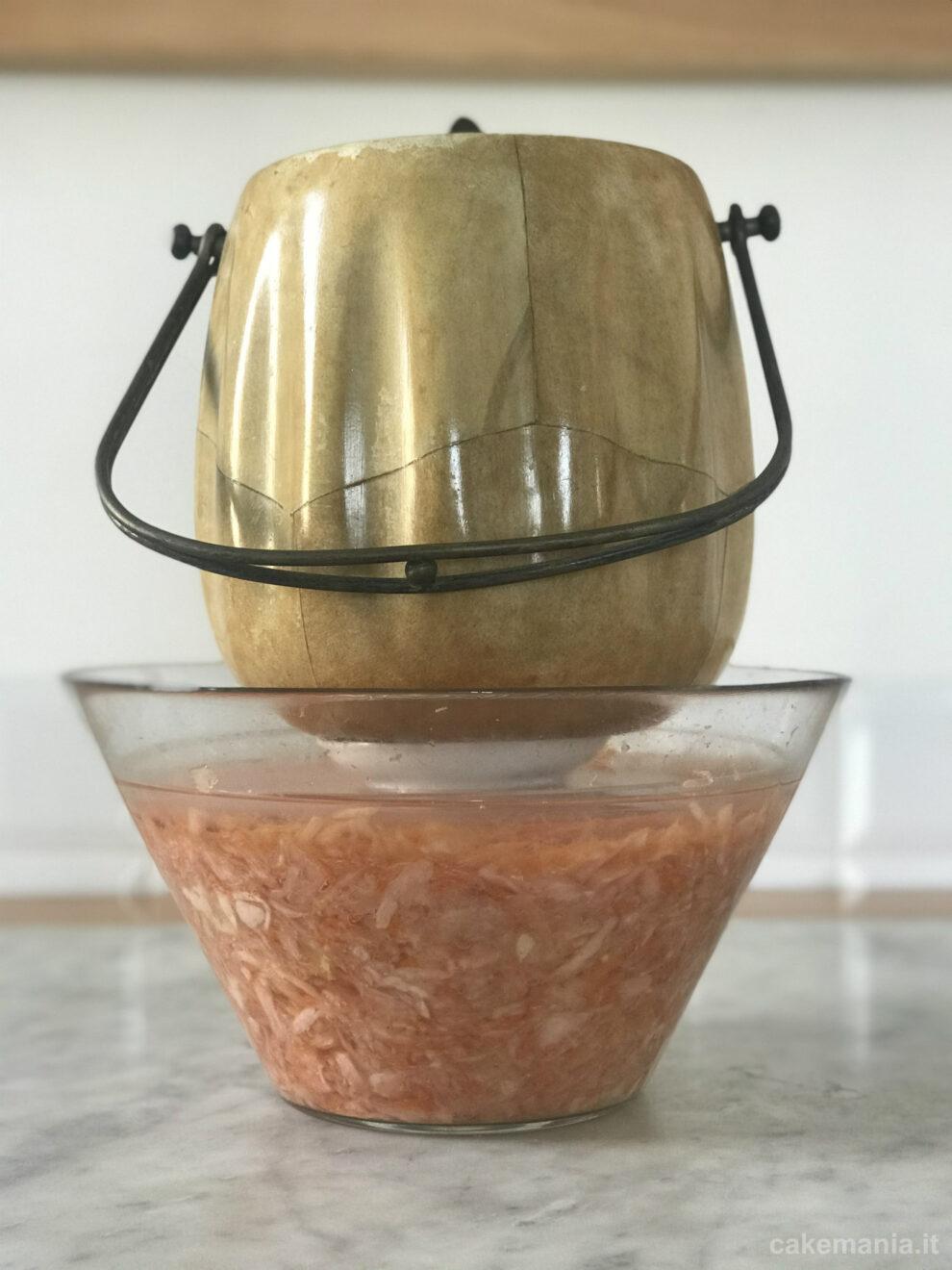 verdure fermentate fatte in casa
