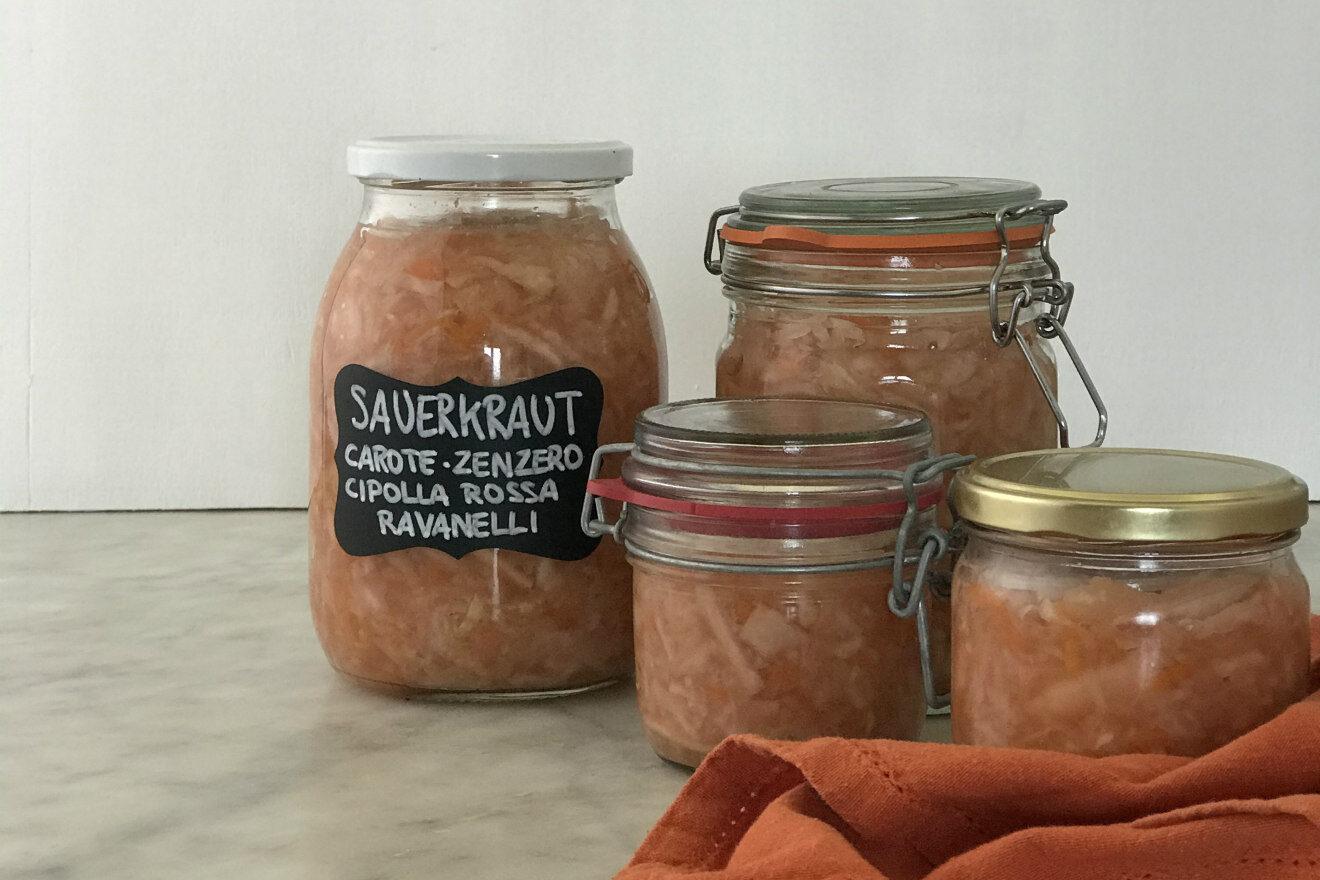 verdure fermentate ricetta cakemania