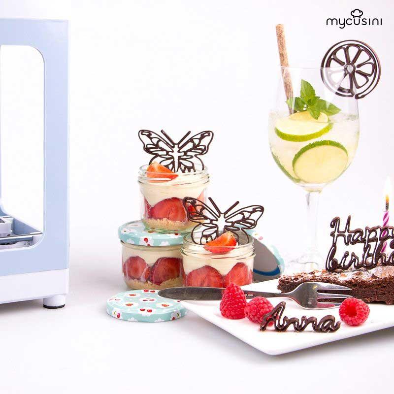 stampante 3D cioccolato MyCusini