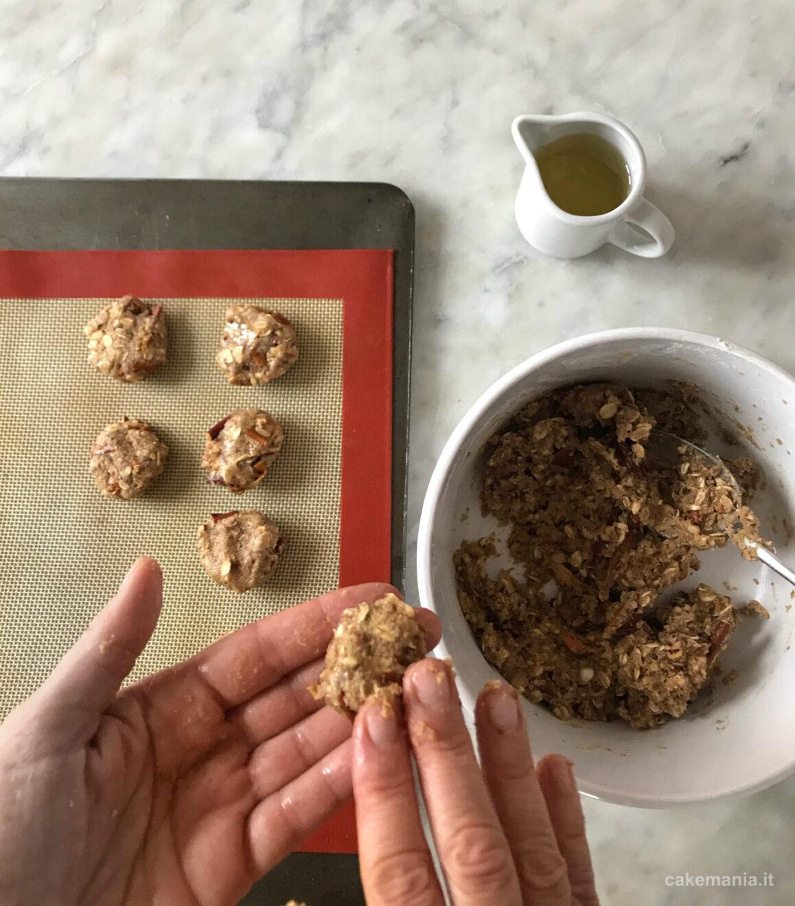 ricetta biscotti vegani senza zucchero