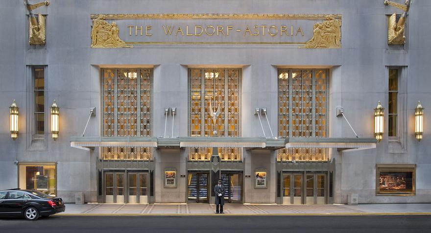 waldorf astoria hotel new york city