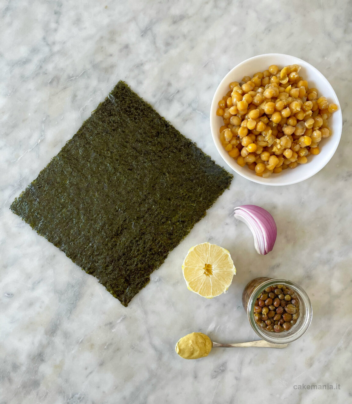 ingredienti tonno vegano fatto in casa