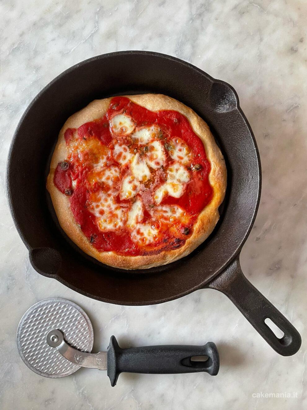 pizza in casa come in pizzeria