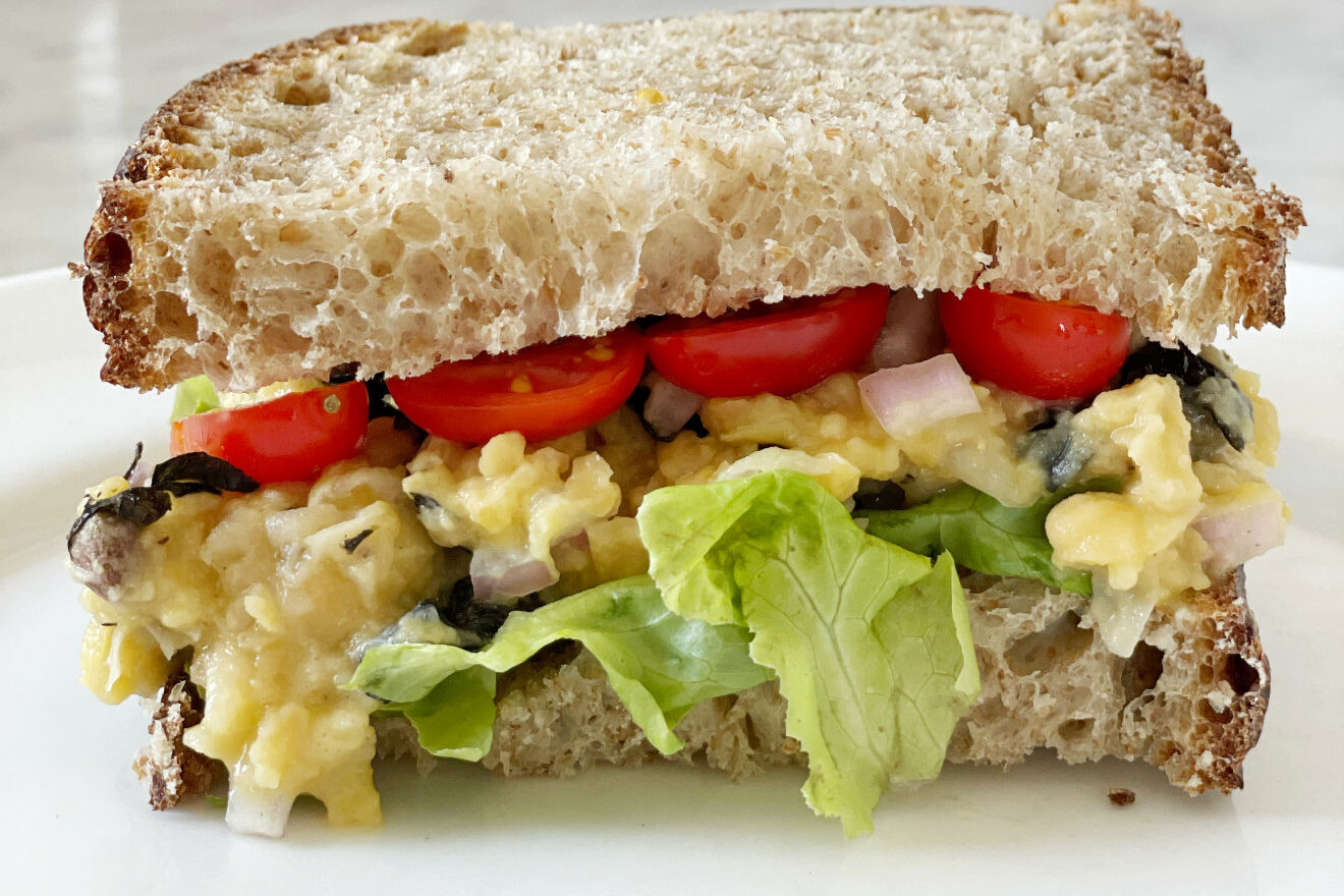 sandwich con tonno vegetale