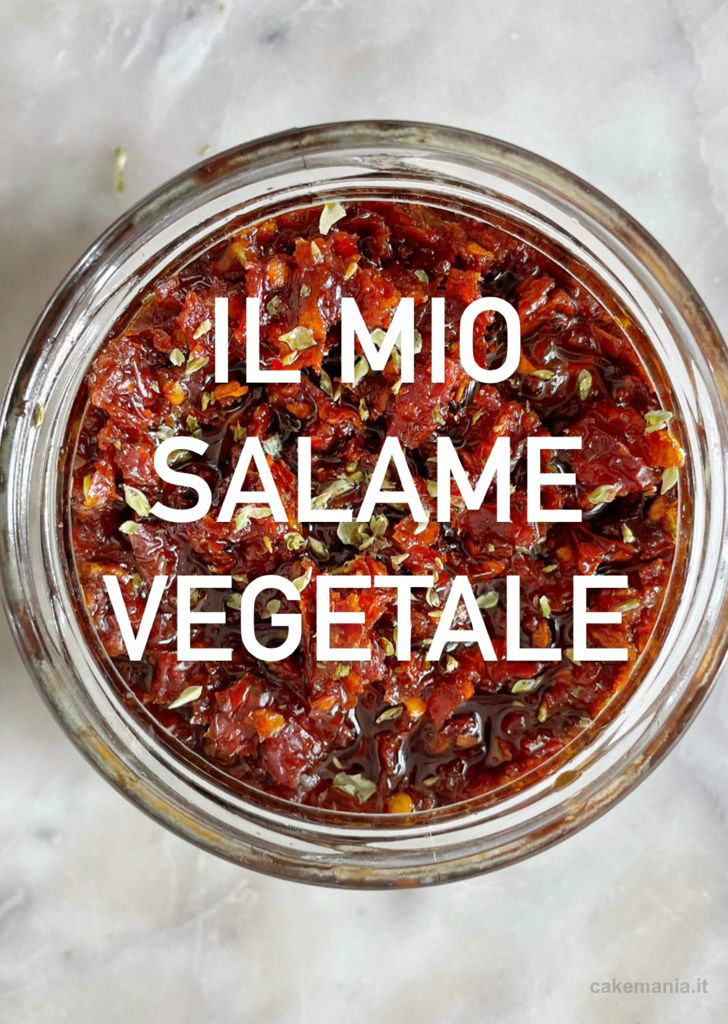 salame vegetale fatto in casa